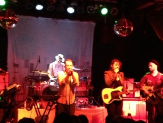 RE: October 11, 2012 : Revolution Music Room, Little Rock, AR, United States