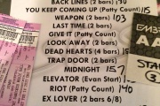 RE: February 14, 2015 : The Danforth Music Hall, Toronto, ON, Canada