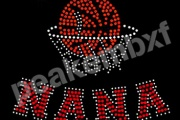 NBA Playoffs Rhinestone Transfers