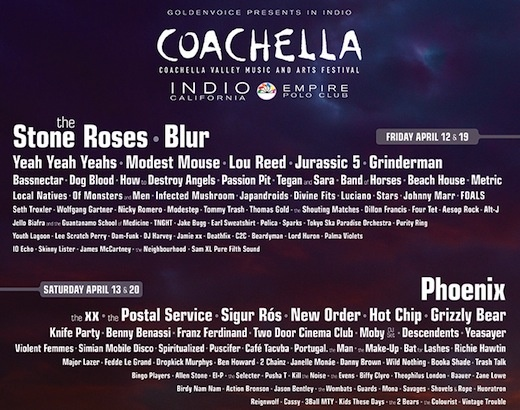 STARS at Coachella!